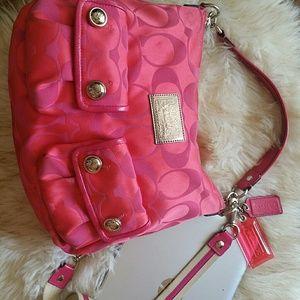 COACH Bag Poppy Collection